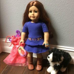 Saige American Girl Doll Dog Dress set